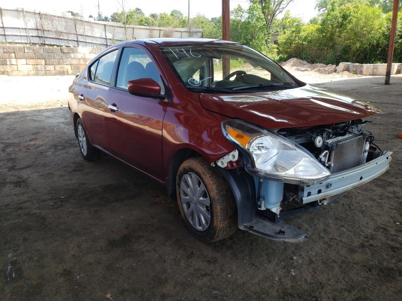 Salvage cars for sale from Copart Fairburn, GA: 2017 Nissan Versa S