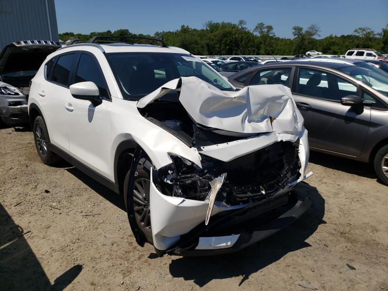 Salvage cars for sale from Copart Jacksonville, FL: 2019 Mazda CX-5 Touring