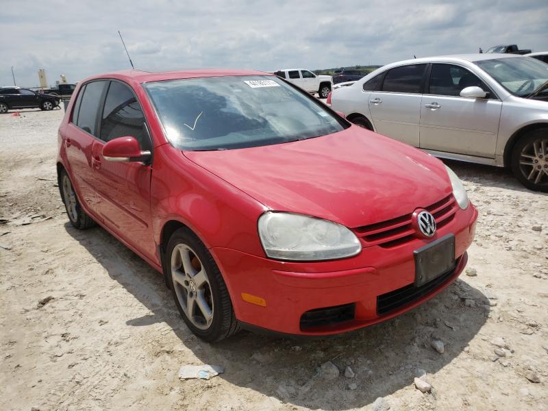 Volkswagen Rabbit salvage cars for sale: 2009 Volkswagen Rabbit