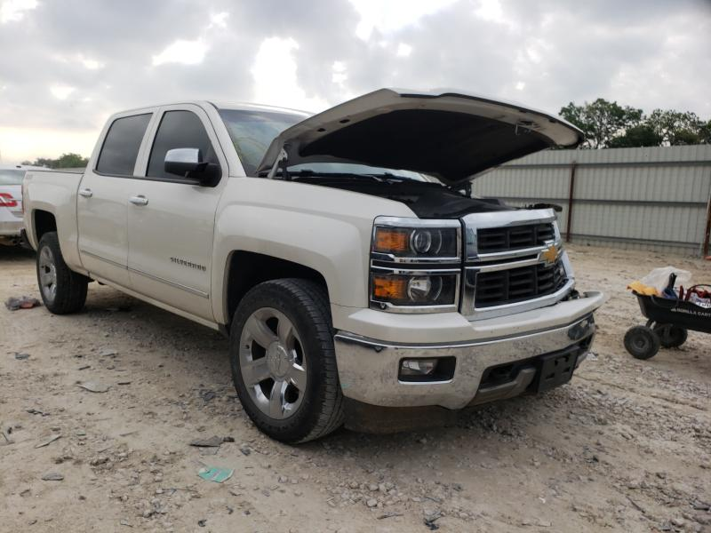 Salvage cars for sale from Copart New Braunfels, TX: 2014 Chevrolet Silverado