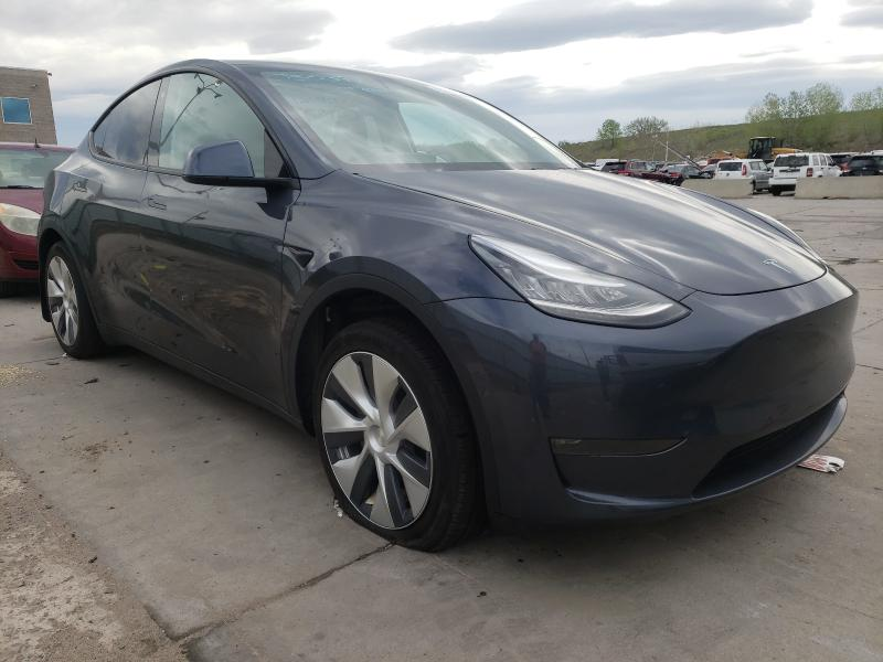 Salvage cars for sale from Copart Littleton, CO: 2020 Tesla Model Y