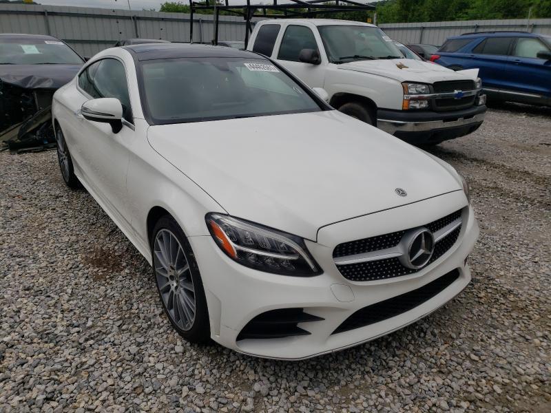 Salvage cars for sale at Prairie Grove, AR auction: 2019 Mercedes-Benz C 300 4matic