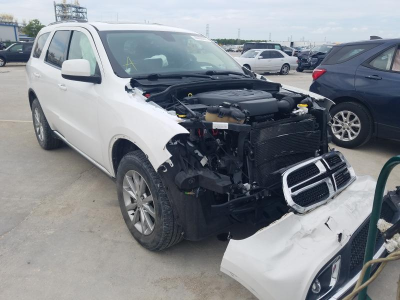 Salvage cars for sale from Copart New Orleans, LA: 2018 Dodge Durango SX