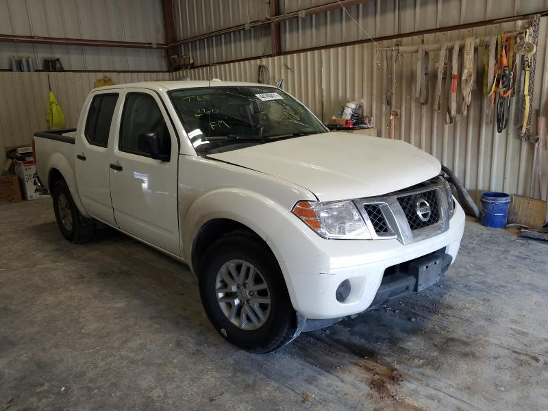 Salvage cars for sale from Copart Abilene, TX: 2017 Nissan Frontier S
