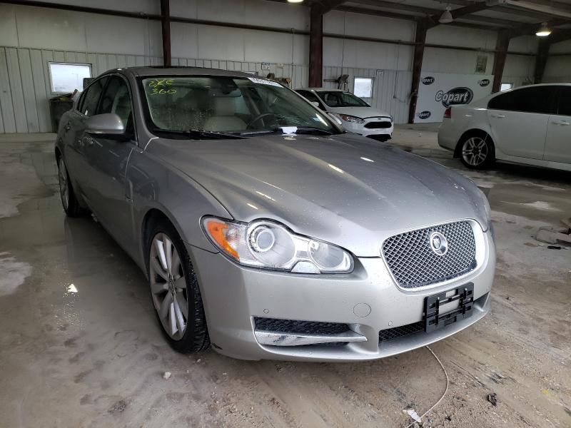 Salvage cars for sale from Copart Haslet, TX: 2010 Jaguar XF Premium