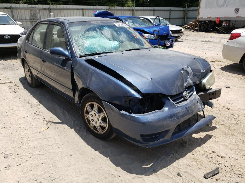 Salvage cars for sale from Copart Midway, FL: 2002 Toyota Corolla CE