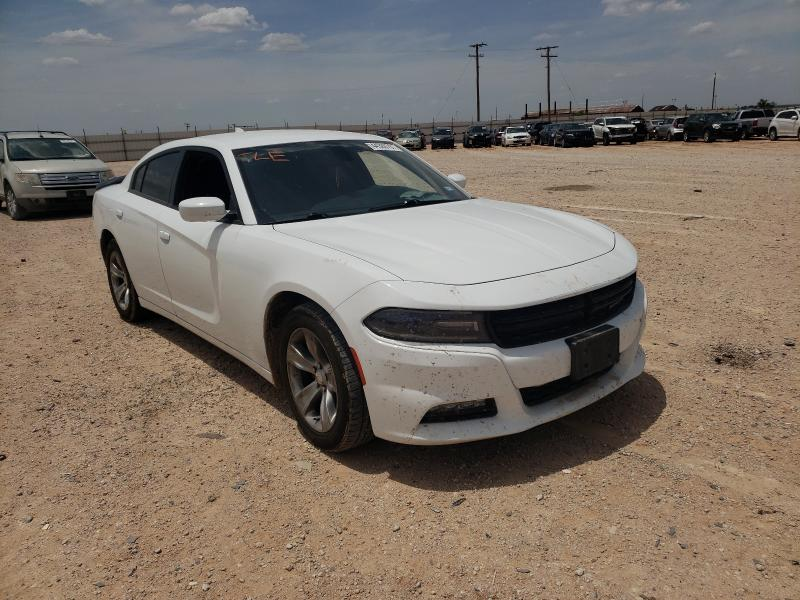 Salvage cars for sale from Copart Andrews, TX: 2018 Dodge Charger SX