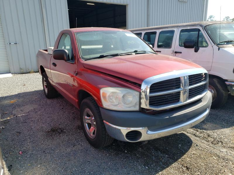 Salvage cars for sale from Copart Jacksonville, FL: 2007 Dodge RAM 1500 S