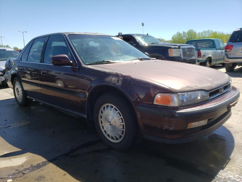 Honda salvage cars for sale: 1991 Honda Accord EX