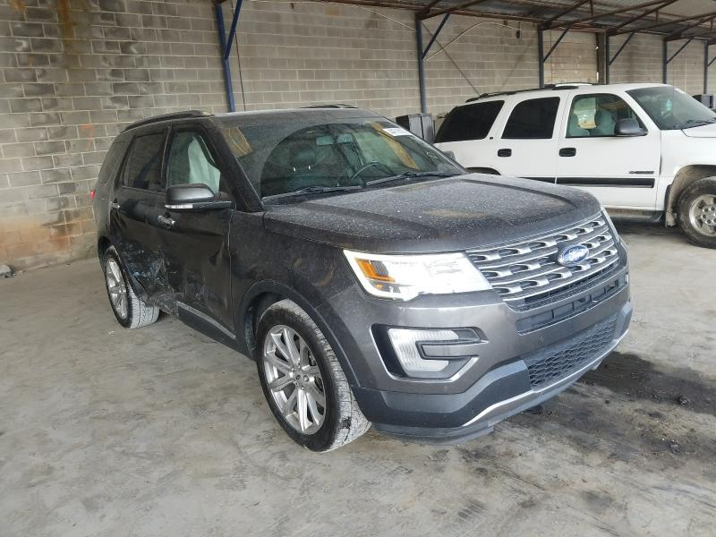 Salvage cars for sale from Copart Cartersville, GA: 2016 Ford Explorer L