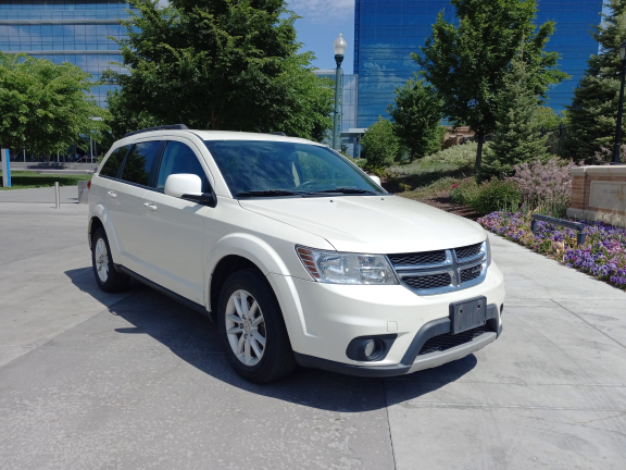 Salvage cars for sale from Copart Magna, UT: 2014 Dodge Journey SX