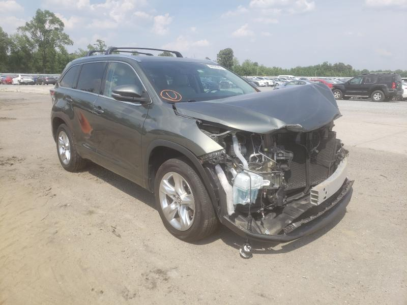 Salvage cars for sale from Copart Lumberton, NC: 2016 Toyota Highlander
