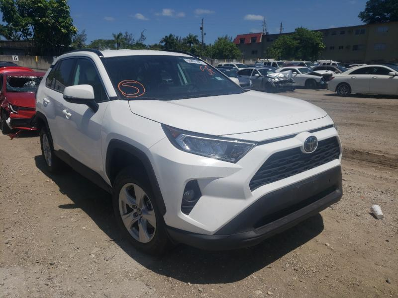 Salvage cars for sale from Copart Opa Locka, FL: 2020 Toyota Rav4 XLE