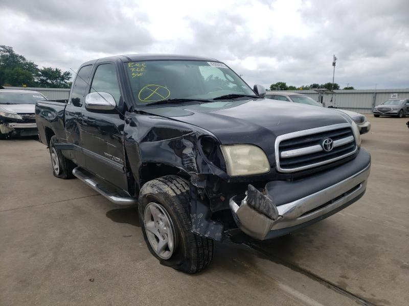 Salvage cars for sale from Copart Wilmer, TX: 2001 Toyota Tundra ACC