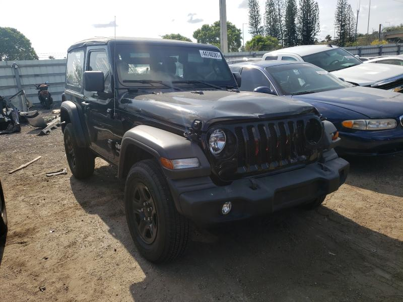 Jeep salvage cars for sale: 2021 Jeep Wrangler S