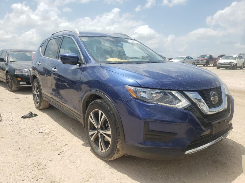 Salvage cars for sale from Copart San Antonio, TX: 2019 Nissan Rogue S