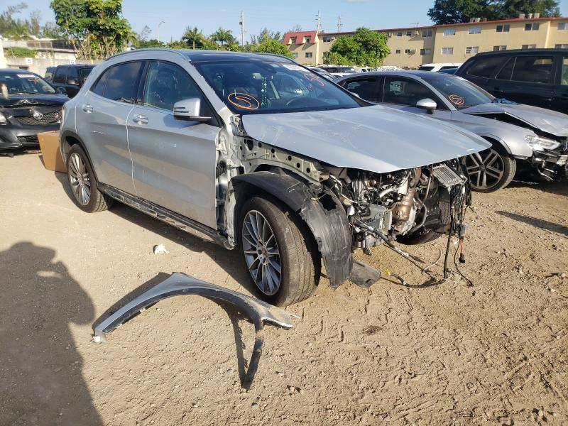 Salvage cars for sale from Copart Opa Locka, FL: 2020 Mercedes-Benz GLA 250 4M