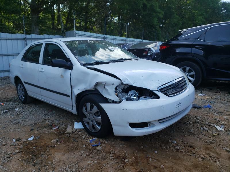 Salvage cars for sale from Copart Austell, GA: 2008 Toyota Corolla CE