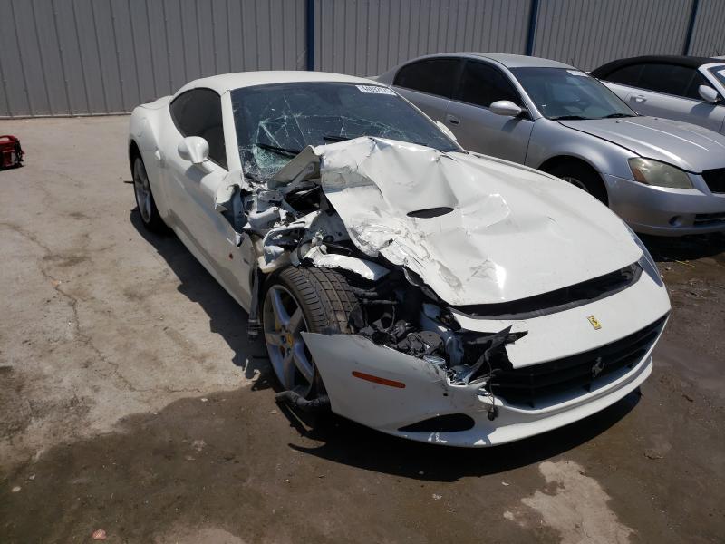 Salvage cars for sale from Copart Apopka, FL: 2016 Ferrari California