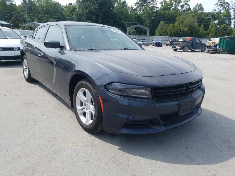 Salvage cars for sale from Copart Savannah, GA: 2019 Dodge Charger SX