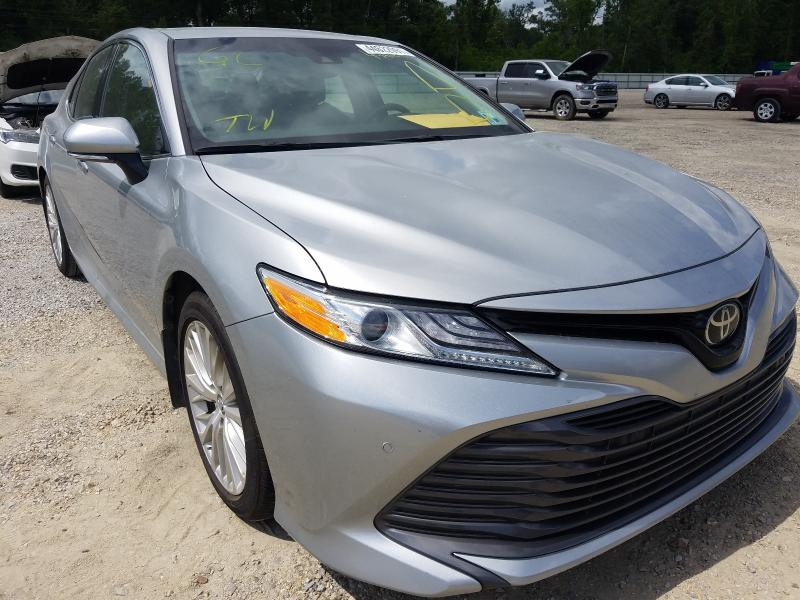 Salvage cars for sale from Copart Greenwell Springs, LA: 2018 Toyota Camry