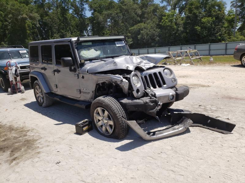 Salvage cars for sale from Copart Ocala, FL: 2017 Jeep Wrangler U