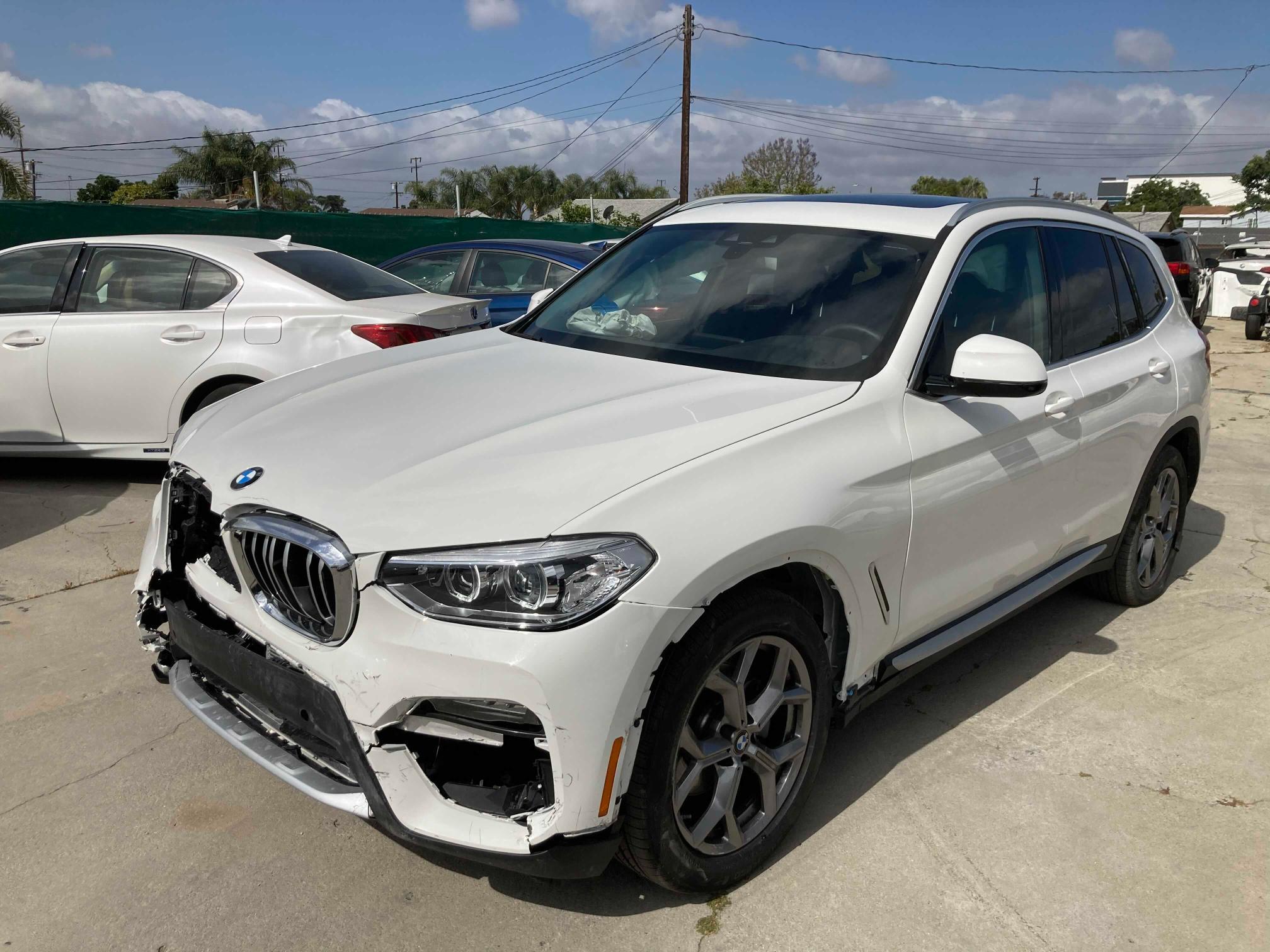 2021 BMW X3 SDRIVE3 5UXTY3C08M9F04592