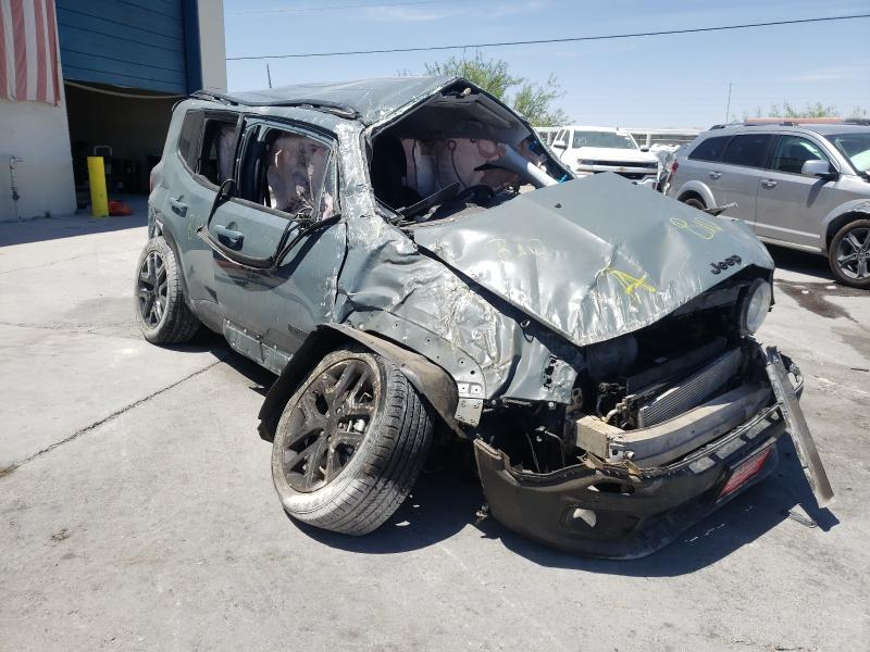 Salvage cars for sale from Copart Anthony, TX: 2018 Jeep Renegade L