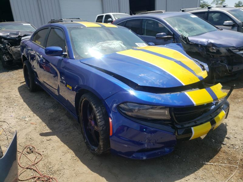 Salvage cars for sale from Copart Jacksonville, FL: 2018 Dodge Charger R