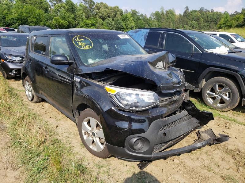 Salvage cars for sale from Copart Concord, NC: 2017 KIA Soul
