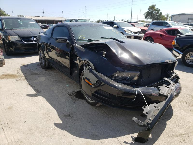 Salvage cars for sale from Copart Riverview, FL: 2013 Ford Mustang