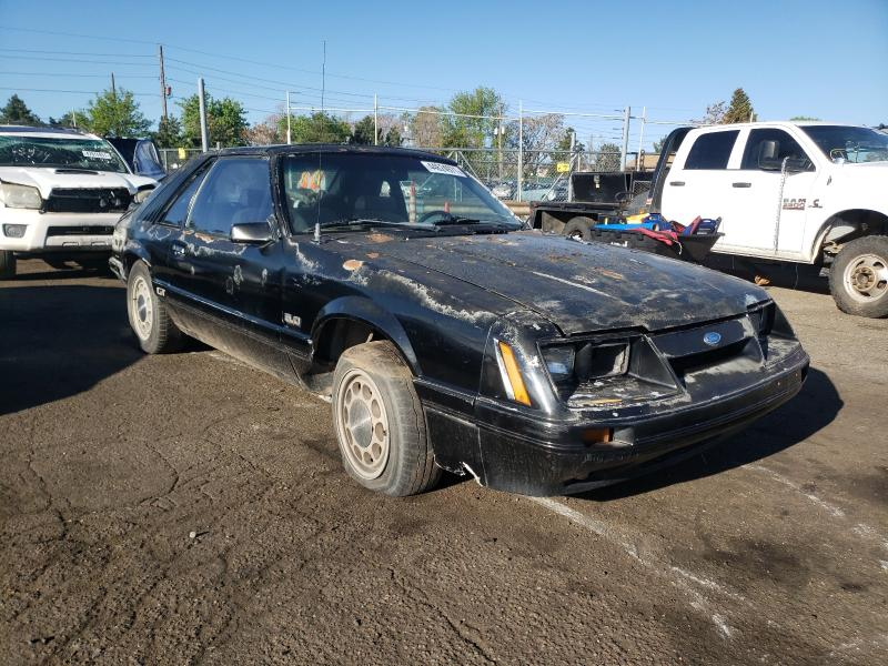 Salvage 1986 FORD MUSTANG - Small image. Lot 44624971