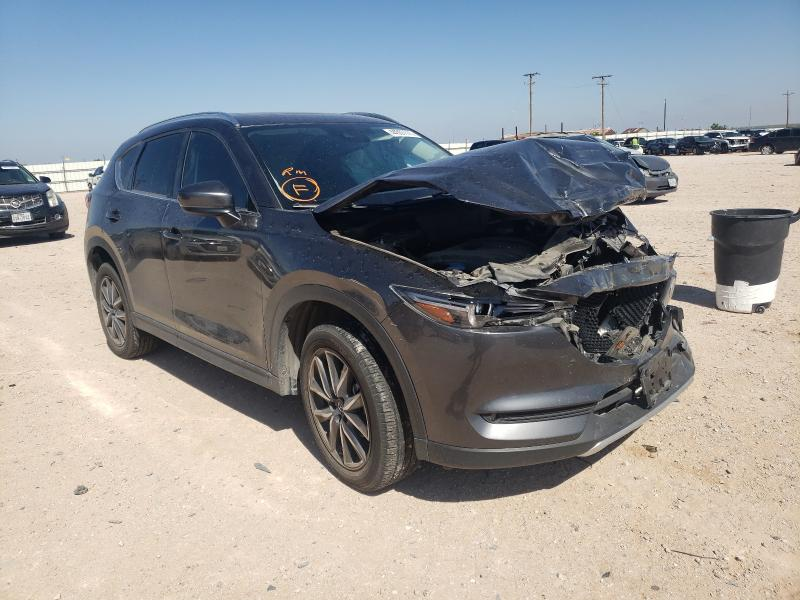 Salvage cars for sale from Copart Andrews, TX: 2018 Mazda CX-5 Grand Touring