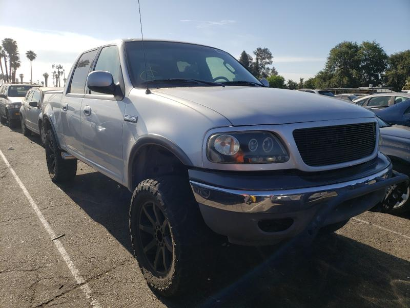 Salvage cars for sale from Copart Van Nuys, CA: 2002 Ford F150 Super