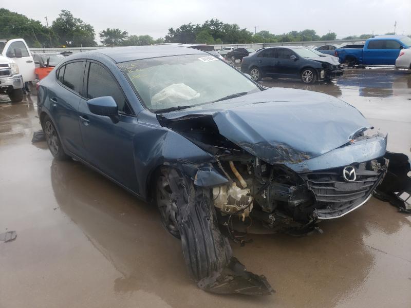 Vehiculos salvage en venta de Copart Wilmer, TX: 2014 Mazda 3 Sport