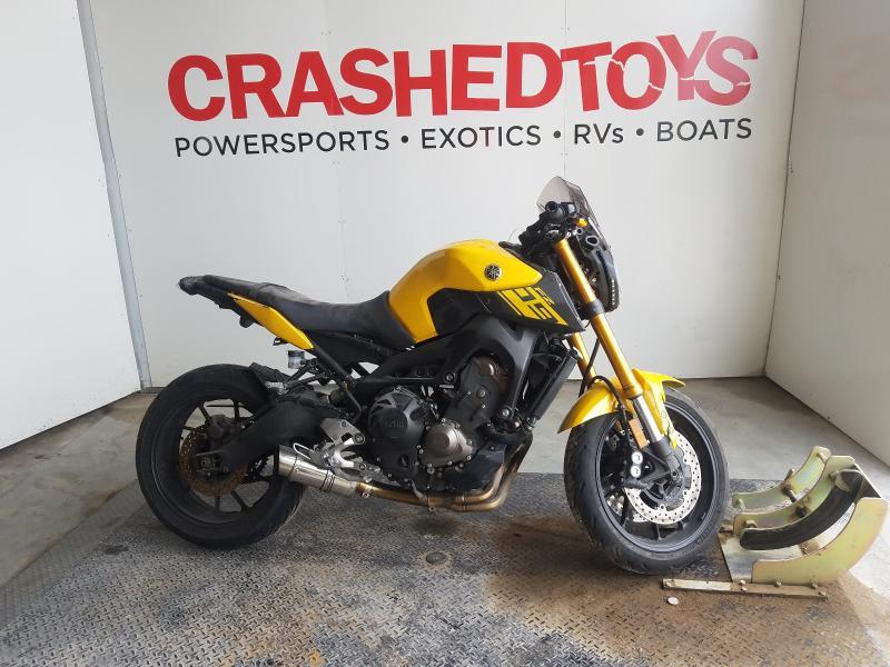 Salvage cars for sale from Copart Kansas City, KS: 2015 Yamaha FZ09