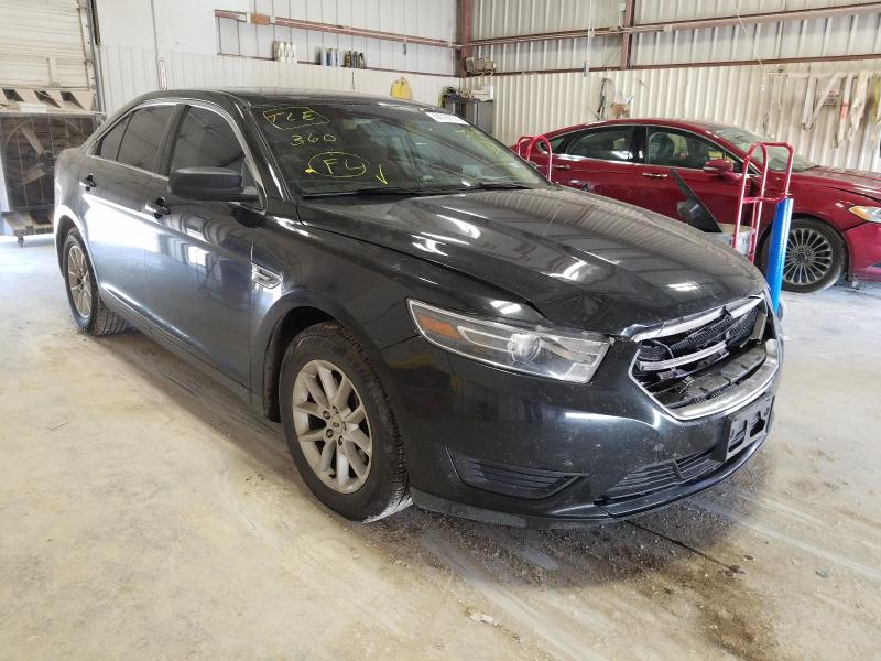 Salvage cars for sale from Copart Abilene, TX: 2015 Ford Taurus SE