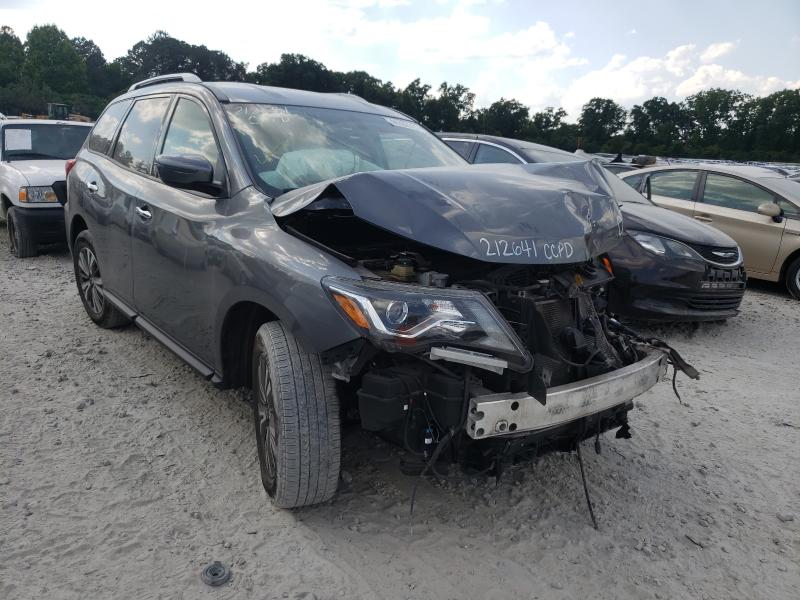 Salvage cars for sale from Copart Ellenwood, GA: 2019 Nissan Pathfinder