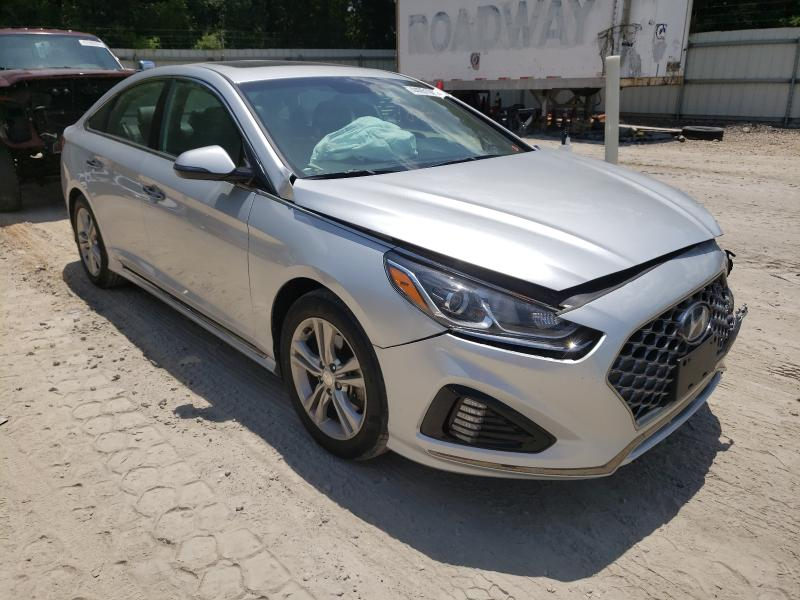 Salvage cars for sale from Copart Midway, FL: 2018 Hyundai Sonata