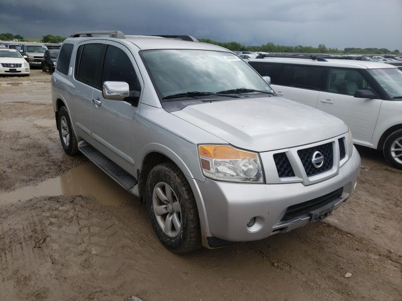 Salvage cars for sale from Copart Temple, TX: 2010 Nissan Armada SE