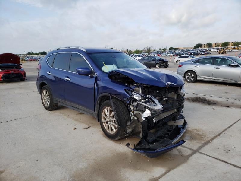 Salvage cars for sale from Copart Grand Prairie, TX: 2019 Nissan Rogue S