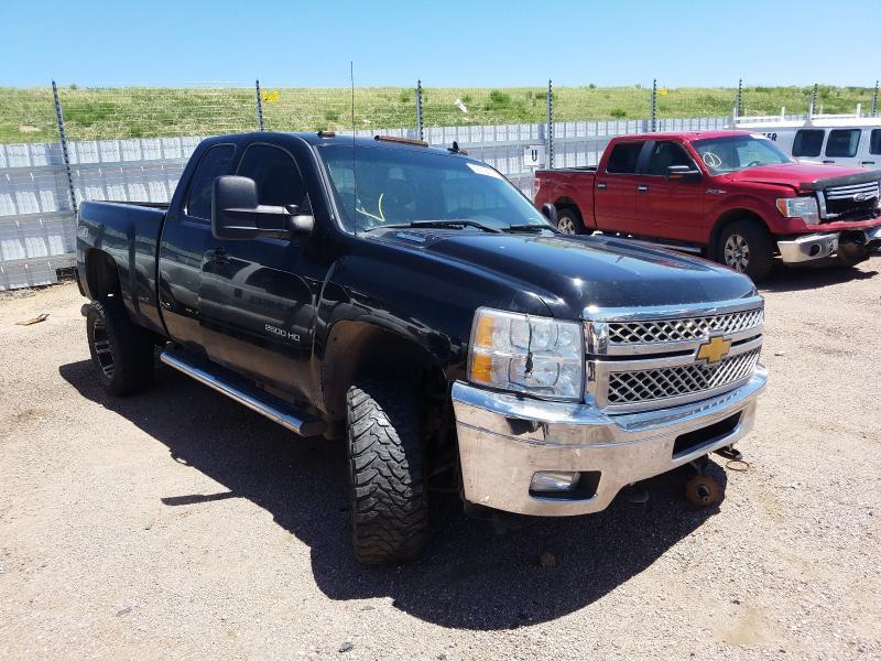 Salvage cars for sale from Copart Colorado Springs, CO: 2012 Chevrolet Silverado