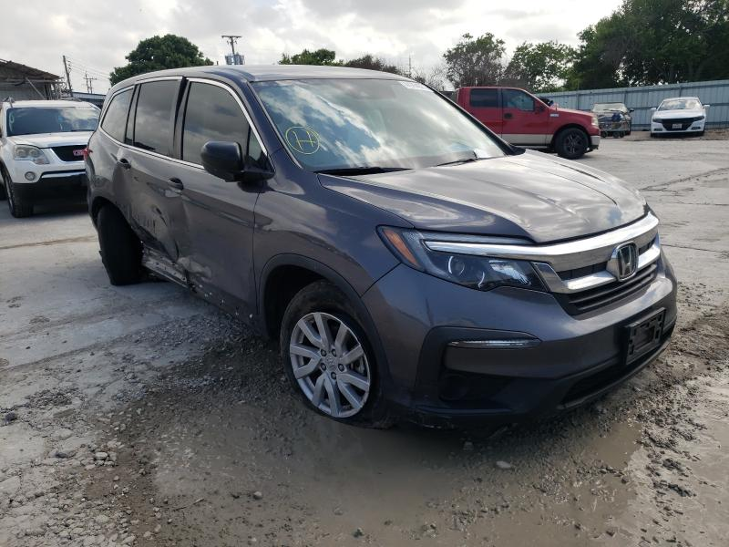Salvage cars for sale from Copart Corpus Christi, TX: 2019 Honda Pilot LX