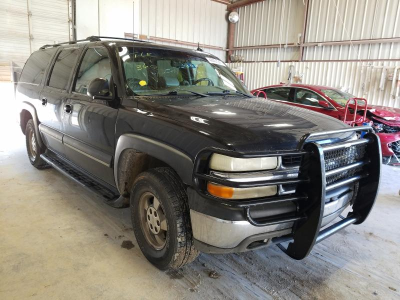 Salvage cars for sale from Copart Abilene, TX: 2002 Chevrolet Suburban C