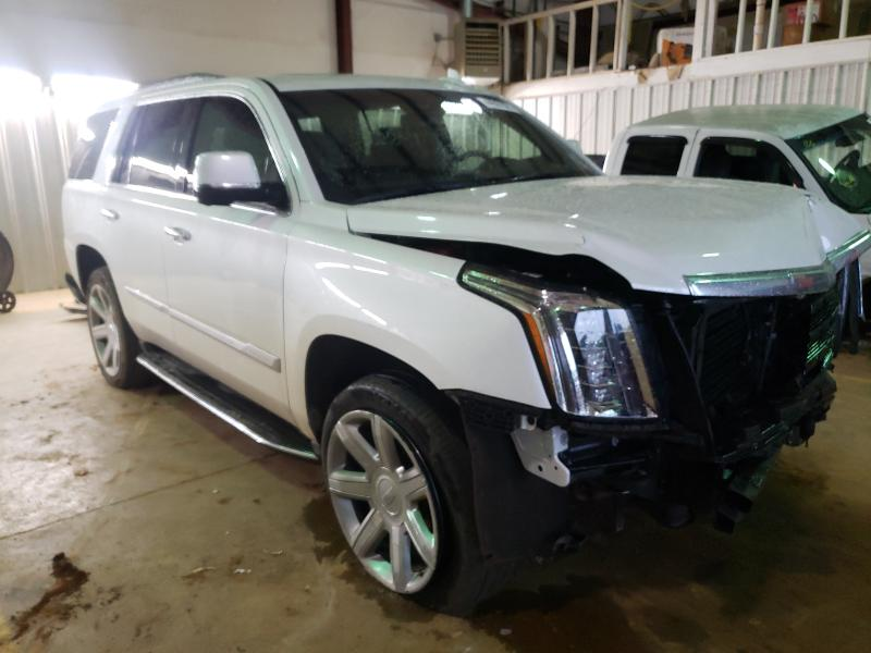 Salvage cars for sale from Copart Longview, TX: 2018 Cadillac Escalade L