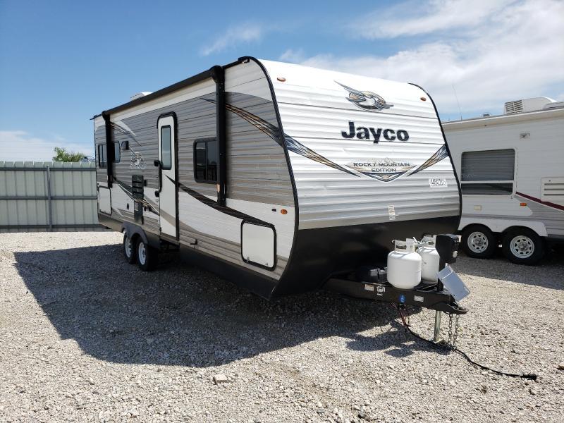 Jayco Travel Trailer salvage cars for sale: 2019 Jayco Travel Trailer