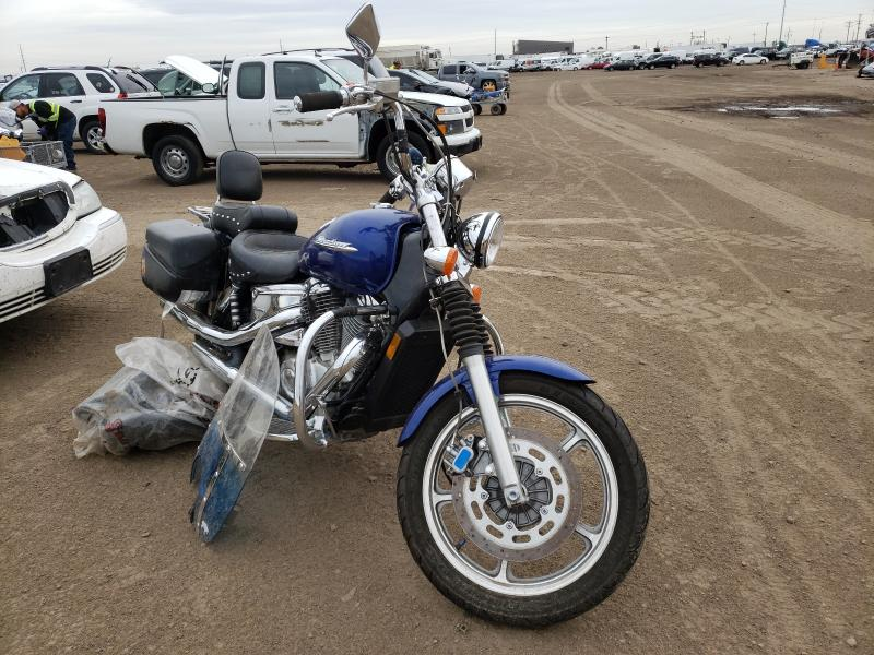 Salvage cars for sale from Copart Brighton, CO: 2004 Honda VT1100 C