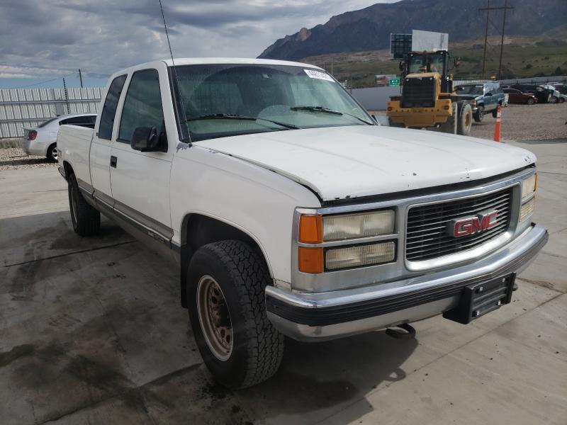 Salvage trucks for sale at Farr West, UT auction: 1998 GMC Sierra K15