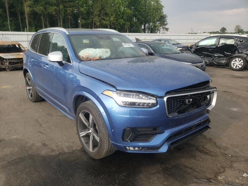 Salvage cars for sale from Copart Dunn, NC: 2019 Volvo XC90 T6 R