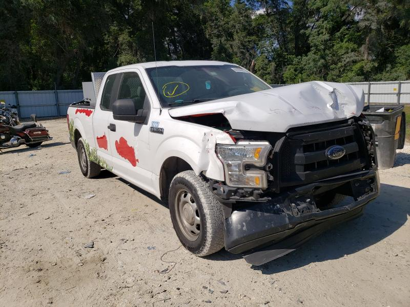 Salvage cars for sale from Copart Ocala, FL: 2015 Ford F150 Super